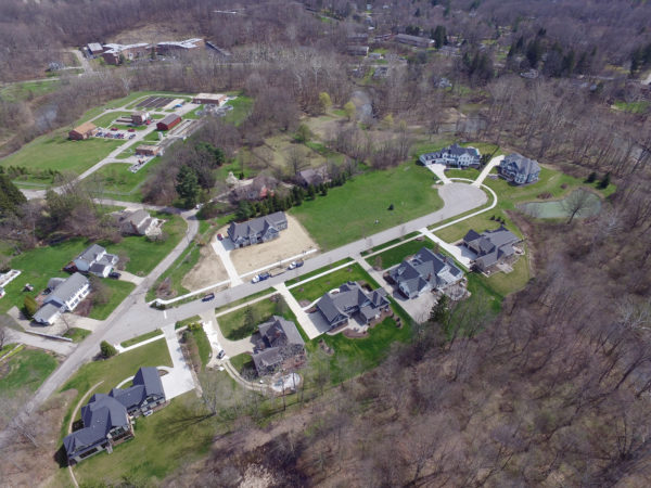 Aerial Photo of Chagrin Meadows Development